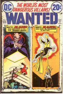WANTED (1972) 7 VF+   April 1973 Hourman, Johnny Quick COMICS BOOK