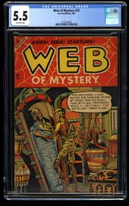 Web of Mystery #23 CGC FN- 5.5 Off White