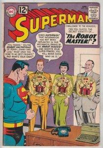 Superman #152 (Apr-62) VG+ Affordable-Grade Superman, Jimmy Olsen,Lois Lane, ...
