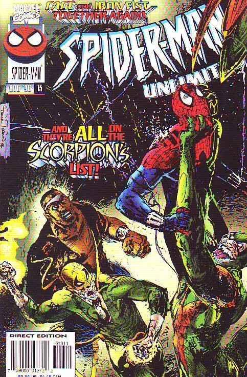 Spider-Man Unlimited #13 (Aug-96) NM/NM- High-Grade Spider-Man