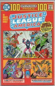 JUSTICE LEAGUE OF AMERICA #1 Super Spectacular VF/NM Wonder Woman DC 1975