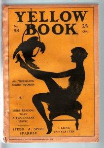 YELLOW BOOK #58-1928-RARE PULP-SPICY STOCKING CVR VG