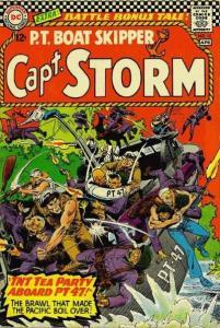 Capt. Storm #12, Good+ (Stock photo)