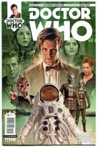 DOCTOR WHO #14 B, NM, 11th, Tardis, 2015, Titan, 1st, more DW in store, Sci-fi