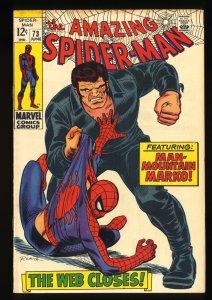 Amazing Spider-Man #73 FN- 5.5 Marvel Comics Spiderman