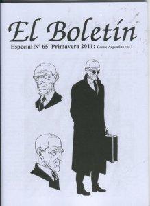 El Boletin Especial numero 065: Comic Argentino volumen 1: 1870-1950