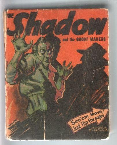 SHADOW AND THE GHOST MAKERS-BIG LITTLE BOOK-#1495-1942-JOHN COLEMAN VG-