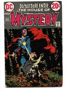HOUSE OF MYSTERY #211 comic book-WRIGHTSON COVER g