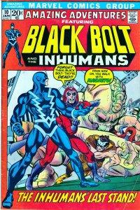 Amazing Adventures(vol.1)#10 Inhumans vs Magneto !