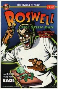 Roswell Little Green Man #3 (Bongo Comics, 1999) FN