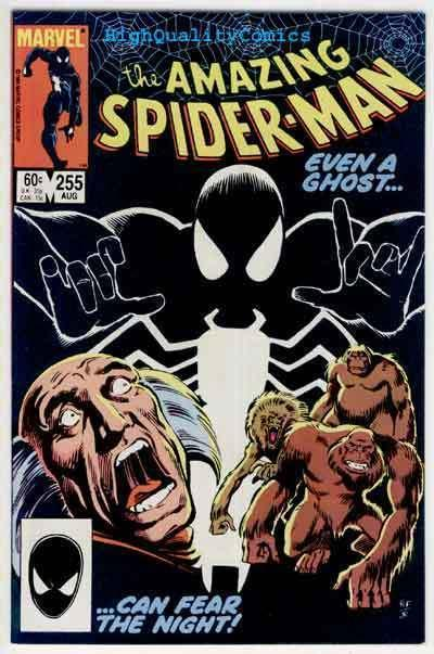 SPIDER-MAN #255, VF/NM, Red Ghost,Apes, Amazing, 1963, more ASM in store