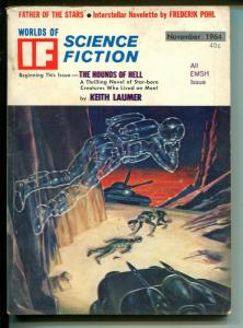 If 11/1964-Galaxy-all  EMSH art issue-Frederick Pohl-VG