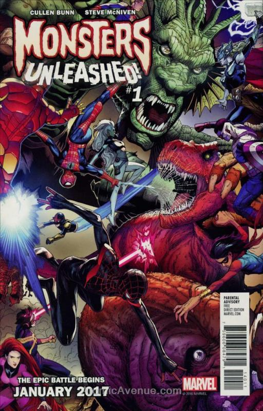 Marvel Free Previews 2016 #3 VF; Marvel | save on shipping - details inside