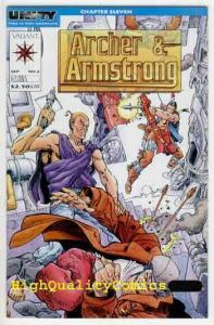 ARCHER & ARMSTRONG #2, NM, Valiant, Barry Smith, Turok, more Valiant in stor