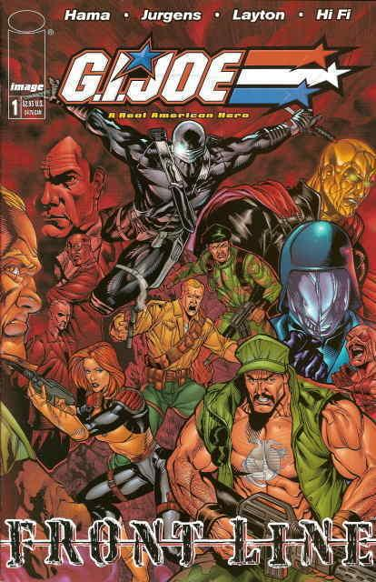 G.I. Joe: Frontline #1A VF/NM; Image | save on shipping - details inside