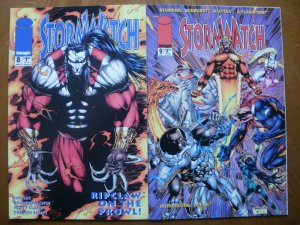 2 Near-Mint Image STORMWATCH #8 #9 (1993) Ripclaw Defile Choi Lee Clark Scott