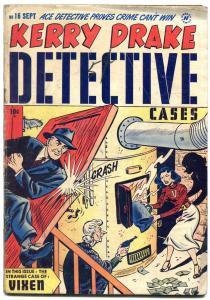 Kerry Drake Detective #16 1949- Golden Age crime comic VG