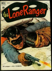 THE LONE RANGER #39-1951-DELL-TONTO-SILVER-SILVER BULLET-vg