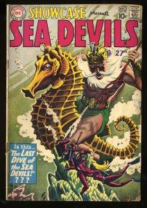 Showcase #29 VG- 3.5 Sea Devils!