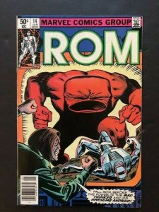 MARVEL ROM Spaceknight #14 MAD THINKER Newstand Variant F/VF (A32)
