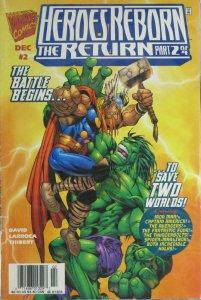Heroes Reborn The Return #2 1997 FN/VF Marvel Comics