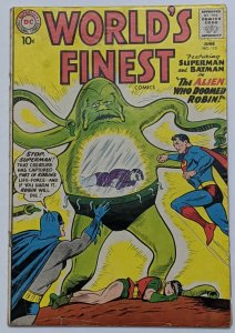 World's Finest #110 (Jun 1960, DC) G/VG 3.0 Curt Swan Sheldon Moldoff cvr