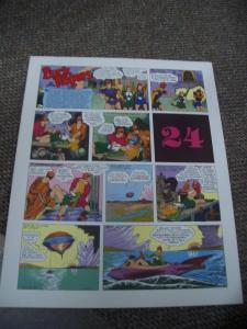 BUCK ROGERS #24-ITALIAN SUNDAY STRIP REPRINTS-CALKINS FN