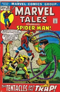 Marvel Tales #39 ORIGINAL Vintage 1972 Marvel Comics Spider-Man Dr Octopus
