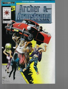 Archer & Armstrong #1 (Valiant, 1993) NM