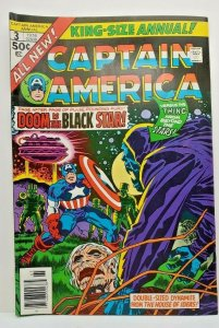 CAPTAIN AMERICA #3 King Size Annual, VF/NM, (1976)
