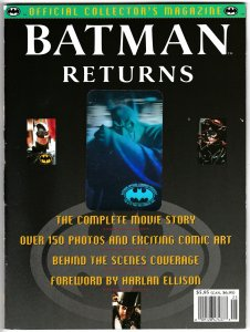 Batman Returns Collectors Magazine Hologram Cvr (Topps, 1992) FN