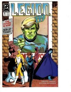 Lot Of 12 Legion DC Comic Books # 1 2 3 9 11 13 14 16 17 18 19 21 Superboy AD41