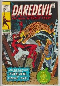 Daredevil #72 (Feb-71) VF/NM High-Grade Daredevil