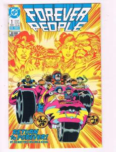 Forever People #1 VF DC Comics Six Issue Mini Series Comic Book 1988 DE12
