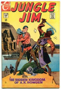 JUNGLE JIM #24 1969-CHARLTON COMICS FN