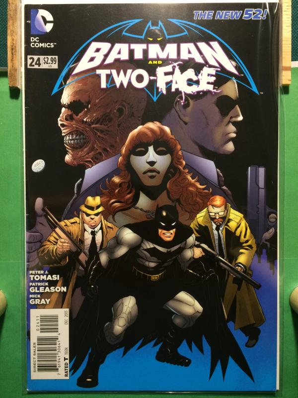 Batman and Robin/Two-Face #24 The New 52