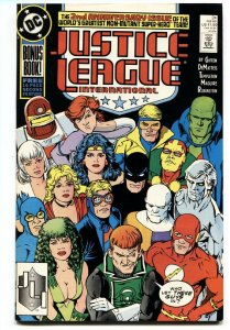 Justice League International #24-1989-1st JUSTICE LEAGUE EUROPE comic book