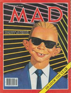 MAD MAGAZINE #269 - HUMOR COMIC MAGAZINE
