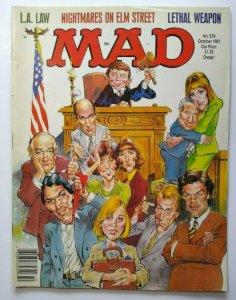 MAD Magazine LA Law Oct 1987 No 274 Lethal Weapon Movie Nightmare On Elm Street
