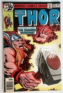The Mighty Thor #281, MARK JEWELERS EDITION