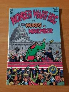 Wonder Wart-Hog and the Nurds of November #1 ~ NEAR MINT NM ~ 1988 Rip Off Press