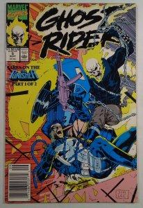 Ghost Rider #5 Newsstand Edition Jim Lee Punisher Marvel 1990