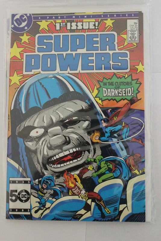 Super Powers 6 Part Mini series #1 (DC, 1985) NM