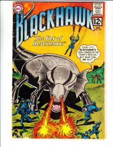 Blackhawk #180 (Jan-63) VG- Affordable-Grade Black Hawk, Chop Chop, Olaf, Pie...