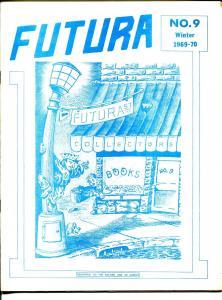 Futura #9 1969-Danny Cassidy-final issue-Golden Age fanzine-Flash-Batman-VF+