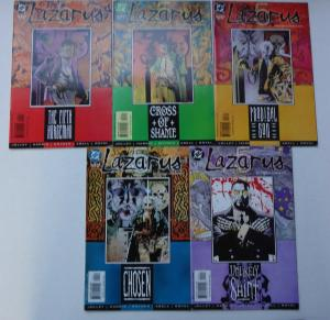 LAZARUS 5 - Complete Mini-Series #1, #2, #3, #4, and #5 from DC Comics