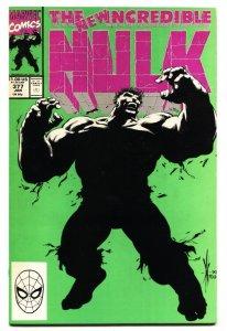 INCREDIBLE HULK #377 comic book 1st Professor Hulk Avengers VF/NM