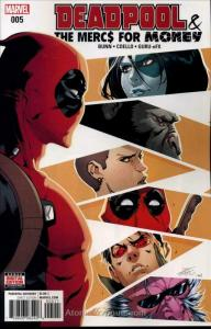 Deadpool And The Mercs For Money (2nd Series) #5 VF/NM; Marvel   save on shippin