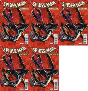 Spider-Man Saga J Scott Campbell Cover (2010) Marvel - 5 Comics