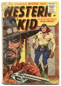 Western Kid #10-1956- Atlas Western comic- Maneely cover FAIR